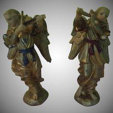Angel Musicians in Flight