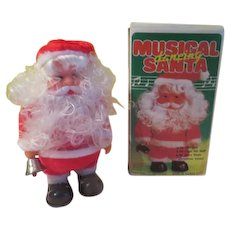 Musical Santa in Box - b275