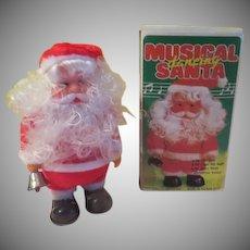 Musical Santa in Box - b275
