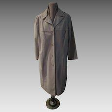 Polka Dot Lined Coat