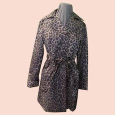On the Wild Side Leopard Print Coat