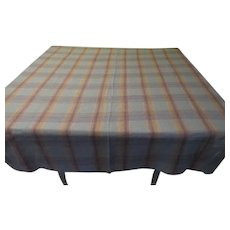 Out of the Blue Woven Tablecloth - b262