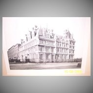 The Vanderbilt Mansion Photogravure
