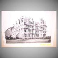 The Vanderbilt Mansion Photogravure