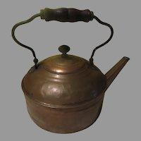 Really Big Copper Tea Kettle - cg