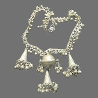 Beads and Cones Necklace - Free shipping - br