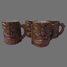 Fierce Tiki Mugs in Box - b294
