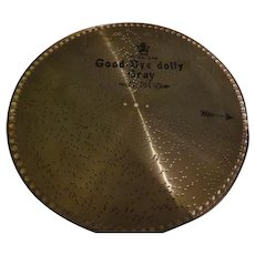 Good Bye Dolly Gray Swiss Music Box Disc