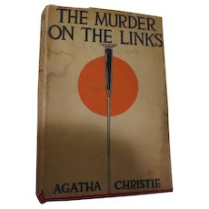 The Murder on the Links by Agatha Christie Grosset & Dunlap, 1923 - drd