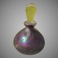 Lusterous Purple Perfume Bottle - b278