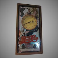 Delicious and Healthful Pepsi Cola Advertising Clock/mirror - b