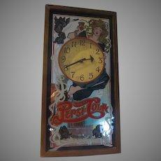 Delicious and Healthful Pepsi Cola Advertising Clock/mirror - b