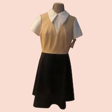 Skirt and Vest Look Dress
