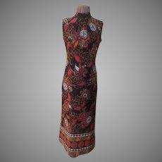 Far Out Paisley Border Print Dress