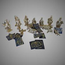 """Authentic Gold Leaf{{ Nativity Set = X-19-gb"