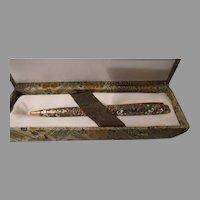 Cloisonne Pen In Box - b262