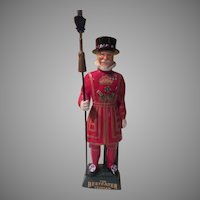 The Beefeater Yeoman Carltonware Ltd. Straffordshire England Decanter - bb