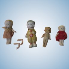 Bisque Babies With Movable Arms = b272