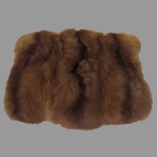 Marvelous Mink Muff - b271