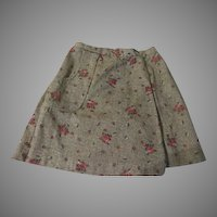 Baskets of Flowers Skort