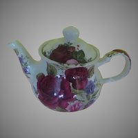 Sadler Roses in Bloom Tea Pot - b271