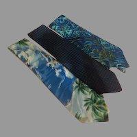 Wide Blue Tie Wardrobe - b273