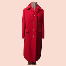 Candy Apple Red Coat