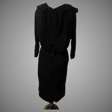 Make an Exit Black Dress