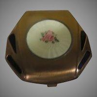 Elgin American Rose Bud Compact - b280
