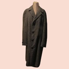 Tweed Men's Top/overcoat