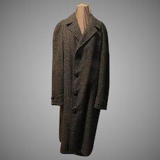 Tweed Men's Top/overcoat
