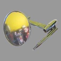Space Age Rocket Yankee Metal Prod. 60's Sideview Mirror - b282