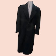Button Up Your Cashmere Blend Overcoat