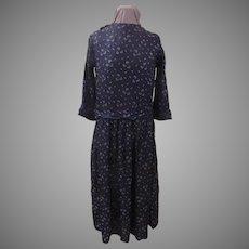 Tissue Navy dress