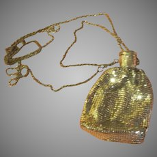 Mesh Reticule/purse with Accordion Cap - b264