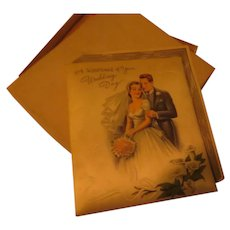 Wedding Keepsake Greeting Card - b284