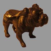 Yale Mascot Bulldog Metal figure May, 1928 - dr