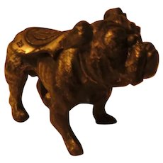 Yale Mascot Bulldog Metal figure May, 1928 - dr