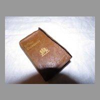 Romeo and Juliet Miniature Book Knickerbocker Leather & Novelty Co. - b284