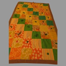 Tied and True Child/lap Quilt - b284