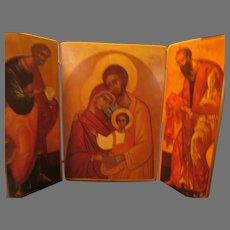 Three panel Italian Icon - b285