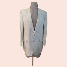 Nubby Texture Linen Jacket