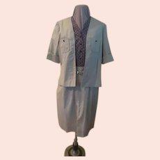 Safari Jacket Dress with Jacket