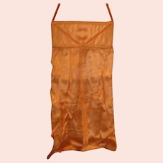 Pink Satin Baby Hanging Hamper/diaper stacker - b264