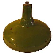 Green Enamel Industrial Metal Light Shade - g