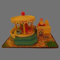 Fisher Price Merry-go-round Music Box - g