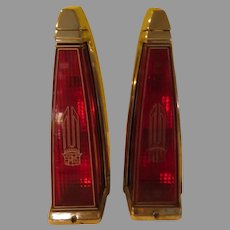 Cadillac Tail Lights 1977 DeVille/Fleetwood - b287