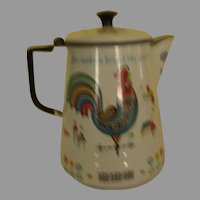 "Berggren ""Coffee Maketh Bright the Spirit'' Pot - g"