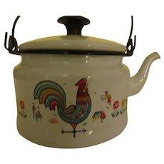 Berggren Rooster Tea Pot/kettle - g