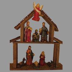 Two Tier Nativity Set - b290
